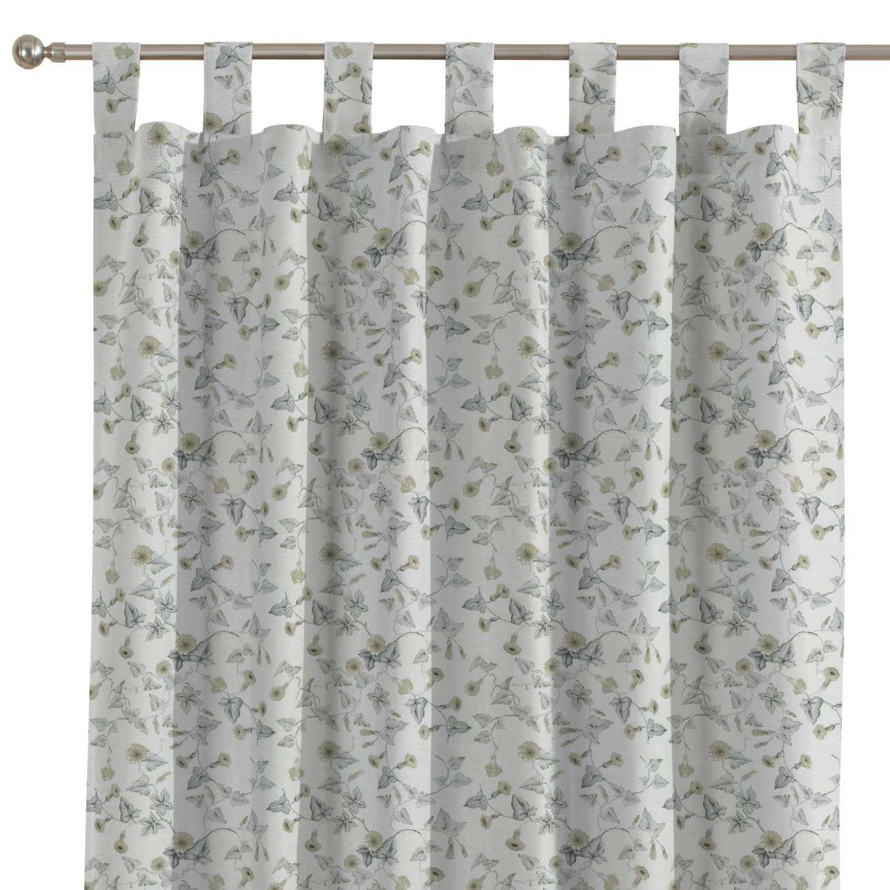 Tab top curtains 130 x 260 cm (51 x 102 inch) in collection Mirella, fabric: 140-42