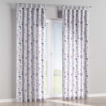 Tab top curtains in collection Ashley, fabric: 140-18