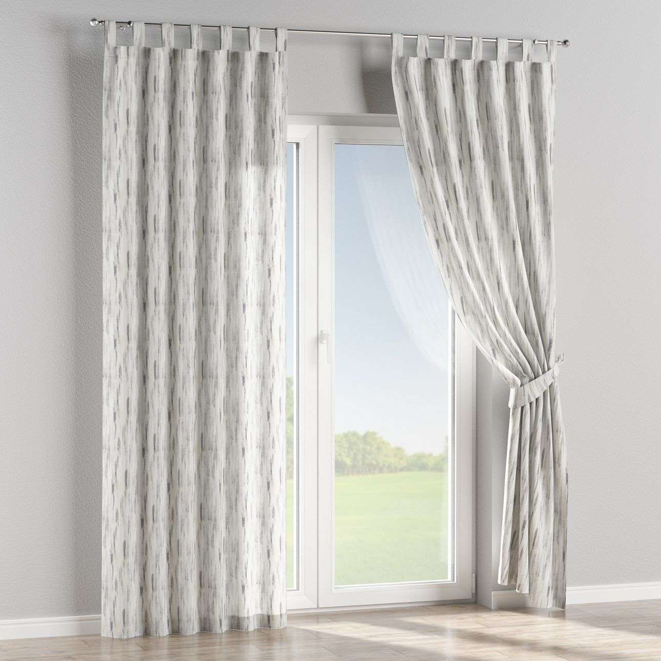 Tab top curtains in collection Aquarelle, fabric: 140-66