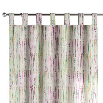 Tab top curtains in collection Aquarelle, fabric: 140-72