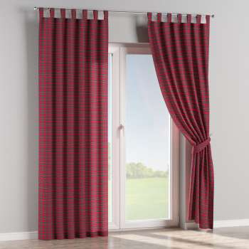 Tab top curtains in collection Bristol, fabric: 126-29