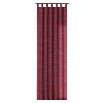 Gardin med hällor 1 längd 130 x 260 cm i kollektionen Bristol, Tyg: 126-29