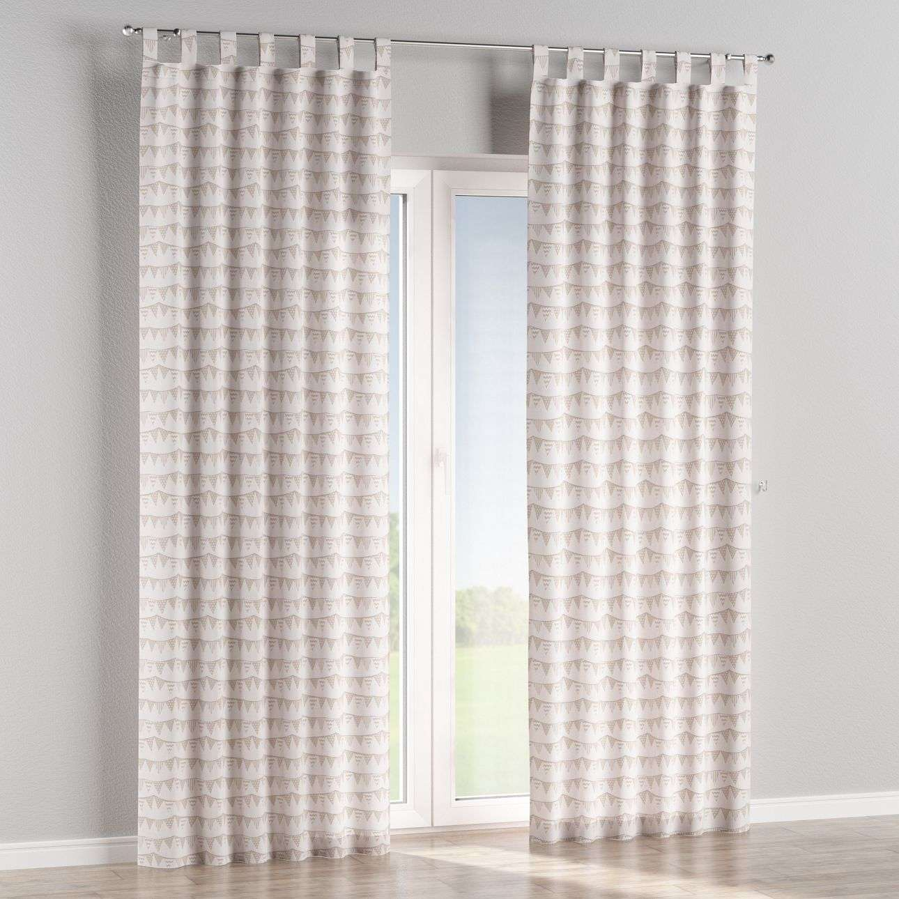Tab top curtains 130 × 260 cm (51 × 102 inch) in collection Marina, fabric: 140-65