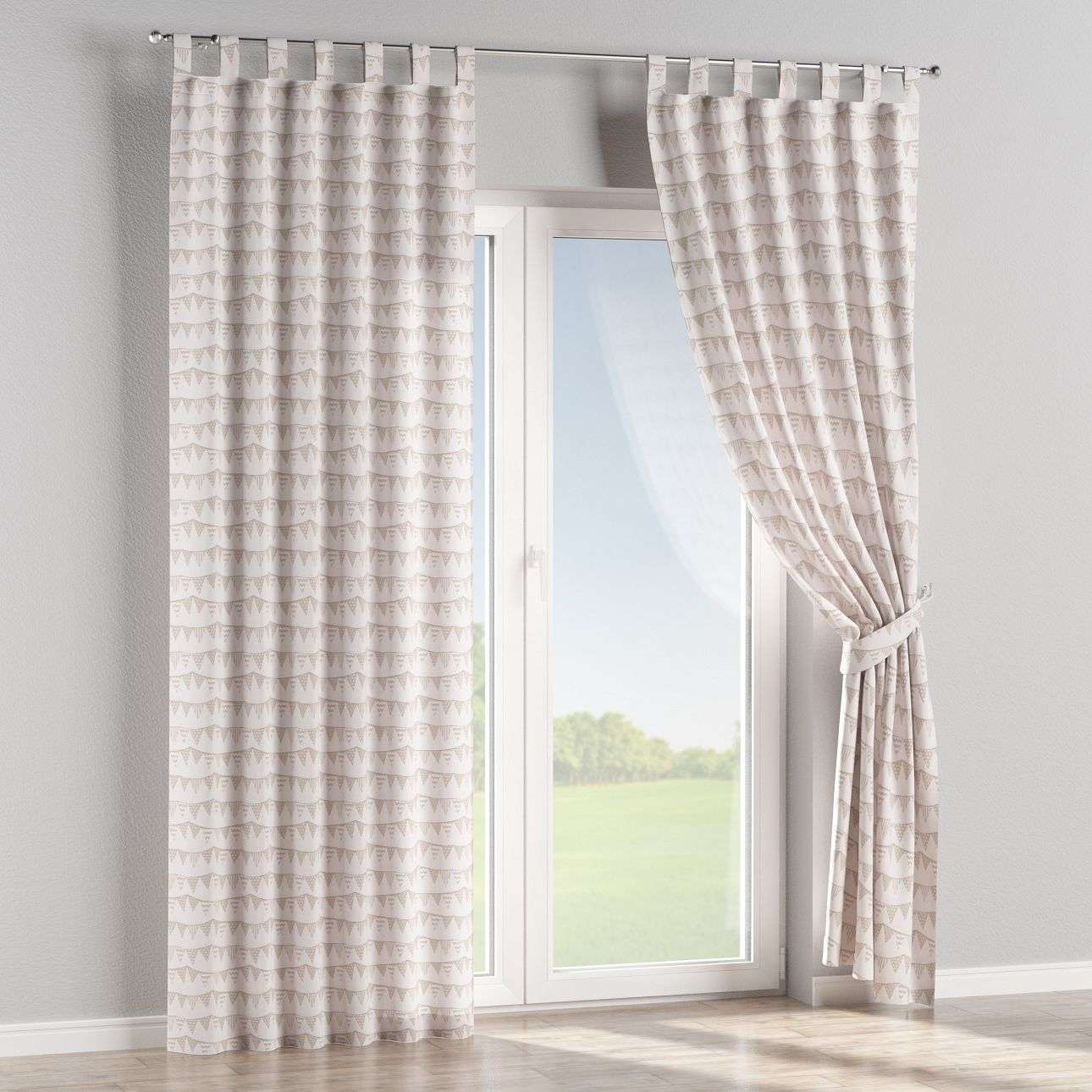 Tab top curtains in collection SALE, fabric: 140-65