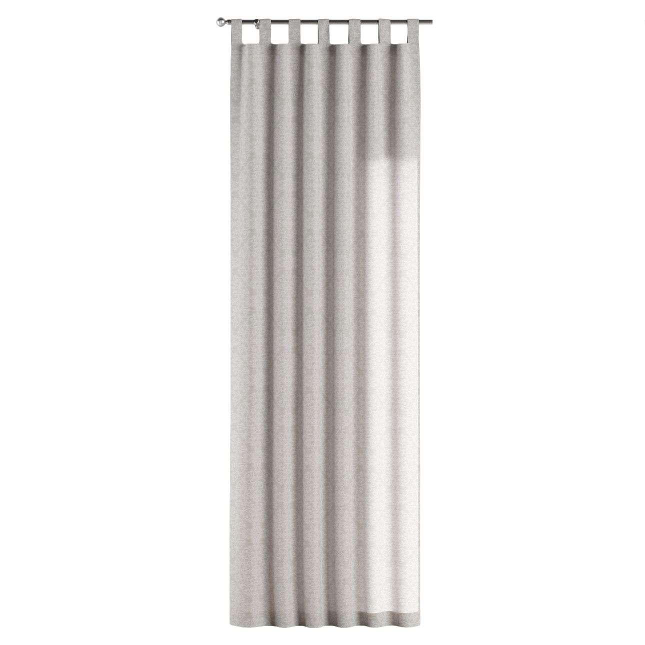 Gardin med stropper 130 x 260 cm fra kollektionen Venice , Stof: 140-49