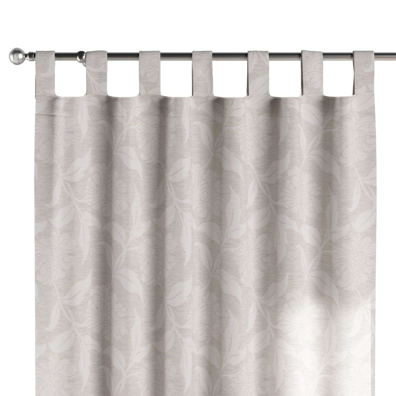 Tab top curtains in collection Venice, fabric: 140-51
