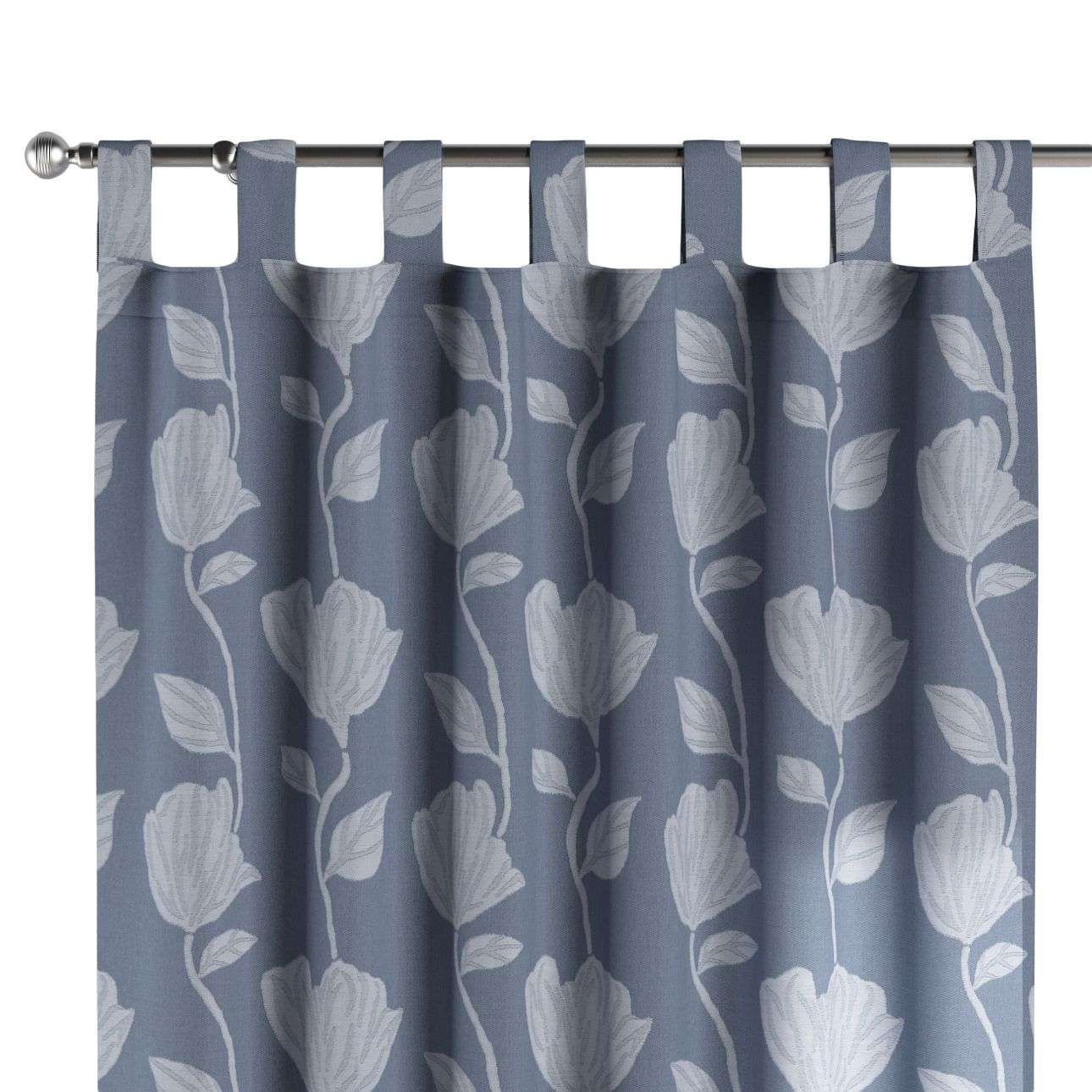 Tab top curtains in collection Venice, fabric: 140-61