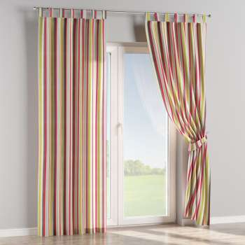 Tab top curtains 130 × 260 cm (51 × 102 inch) in collection Flowers, fabric: 140-81