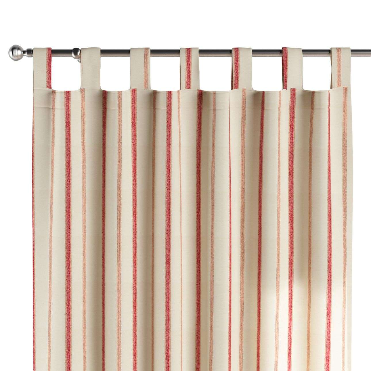 Gardin med hällor 1 längd 130 x 260 cm i kollektionen Avinon, Tyg: 129-15
