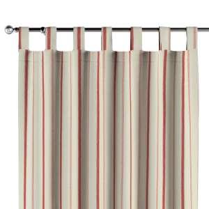 Gardin med stropper 130 x 260 cm fra kollektionen Avinon, Stof: 129-15
