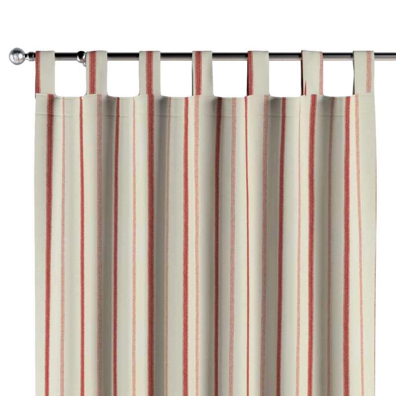 Gardin med stropper 1 stk. fra kollektionen Avinon, Stof: 129-15