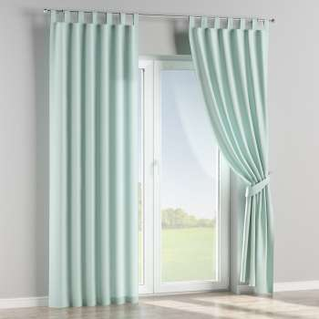 Tab top curtains 130 x 260 cm (51 x 102 inch) in collection Cotton Panama, fabric: 702-10