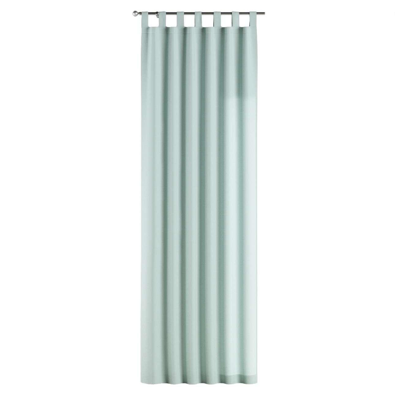 Gardin med hällor 1 längd 130 x 260 cm i kollektionen Panama Cotton , Tyg: 702-10