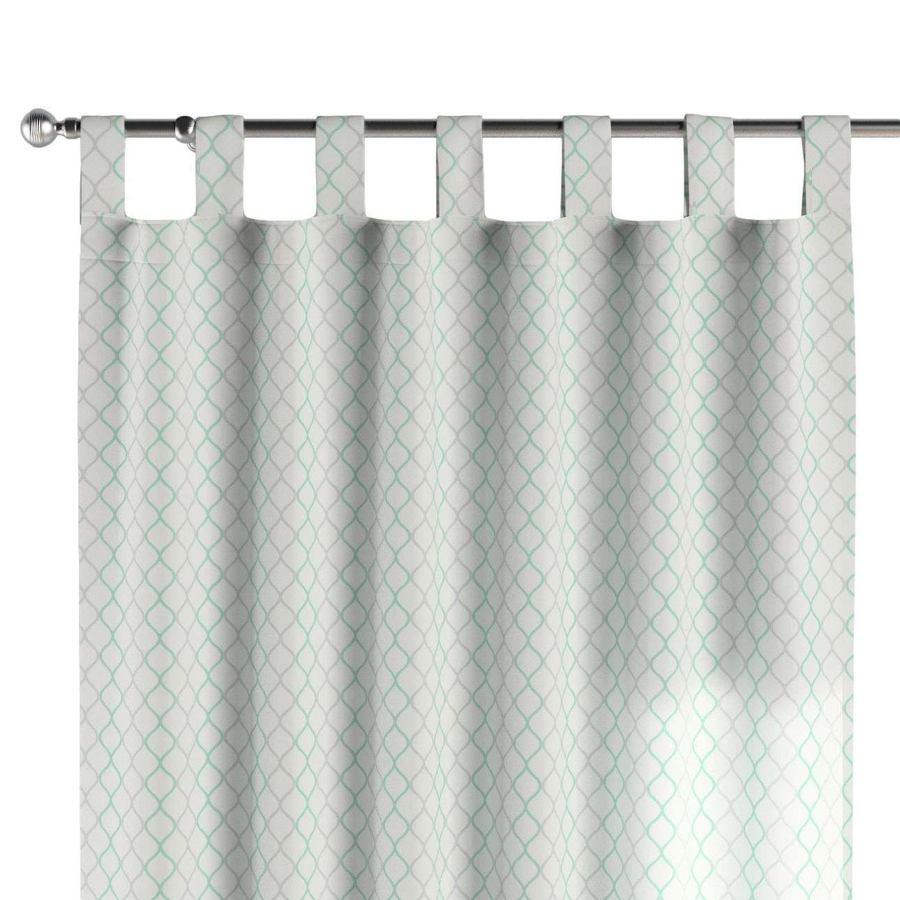 Tab top curtains 130 x 260 cm (51 x 102 inch) in collection Geometric, fabric: 141-47