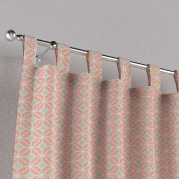Tab top curtains in collection Geometric, fabric: 141-48