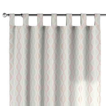 Tab top curtains 130 x 260 cm (51 x 102 inch) in collection Geometric, fabric: 141-49