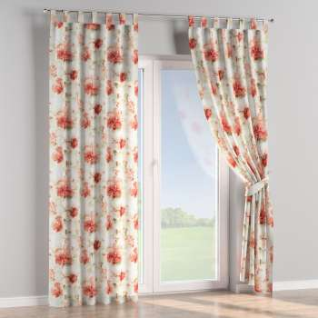 Tab top curtains 130 × 260 cm (51 × 102 inch) in collection Acapulco, fabric: 141-34