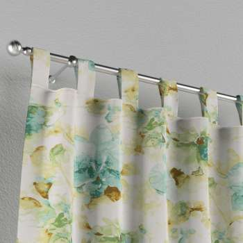Tab top curtains 130 x 260 cm (51 x 102 inch) in collection Acapulco, fabric: 141-35