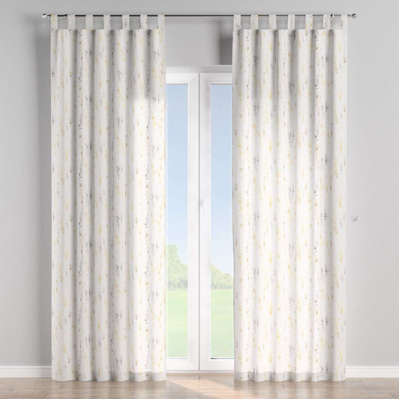 Tab top curtains 130 × 260 cm (51 × 102 inch) in collection Acapulco, fabric: 141-36