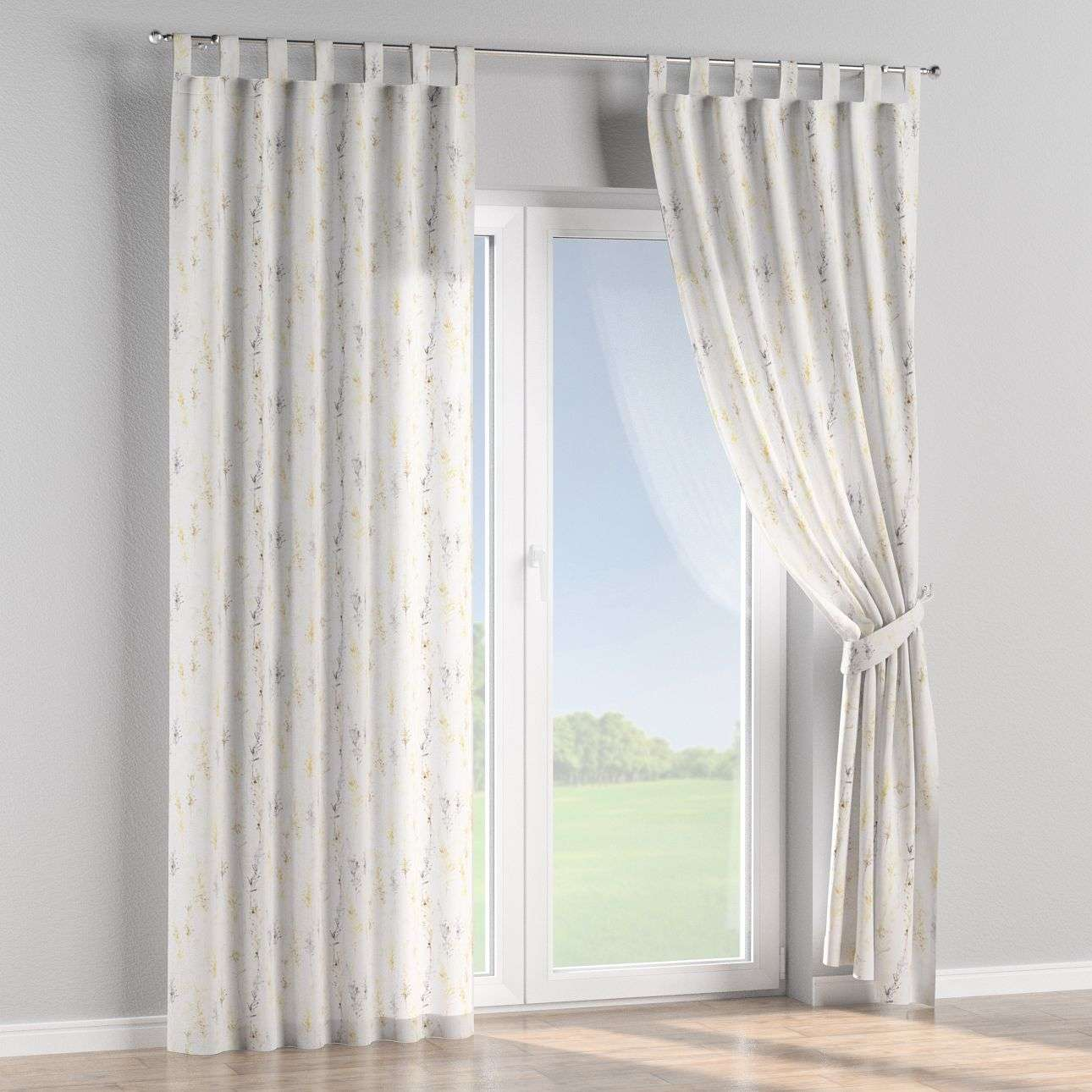 Tab top curtains 130 x 260 cm (51 x 102 inch) in collection Acapulco, fabric: 141-36