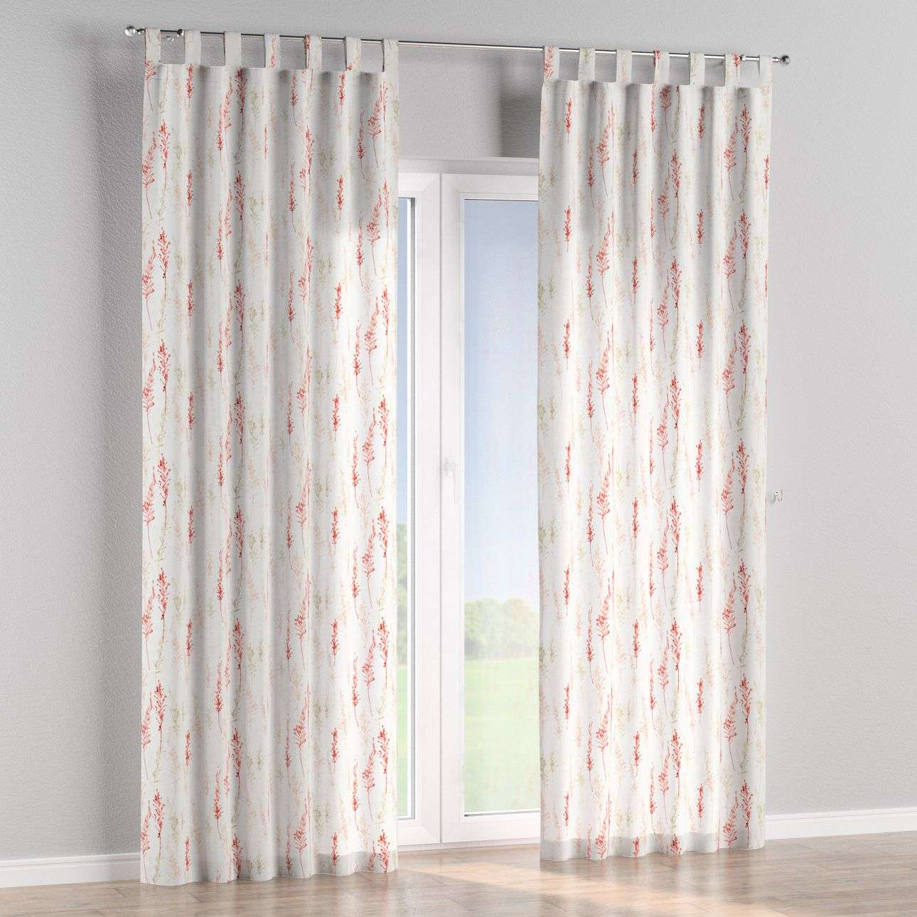 Tab top curtains in collection Acapulco, fabric: 141-37