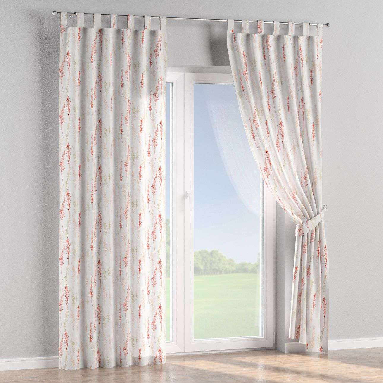 Tab top curtains 130 x 260 cm (51 x 102 inch) in collection Acapulco, fabric: 141-37