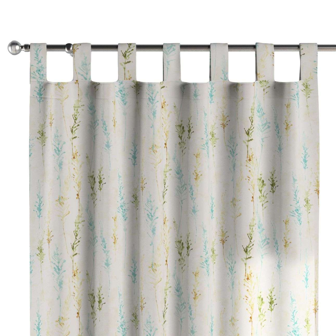 Tab top curtains in collection Acapulco, fabric: 141-38
