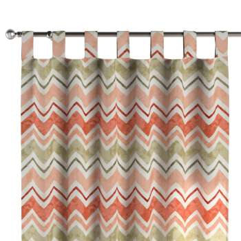 Tab top curtains 130 × 260 cm (51 × 102 inch) in collection Acapulco, fabric: 141-40