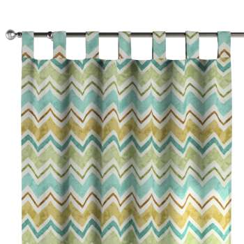 Tab top curtains in collection Acapulco, fabric: 141-41