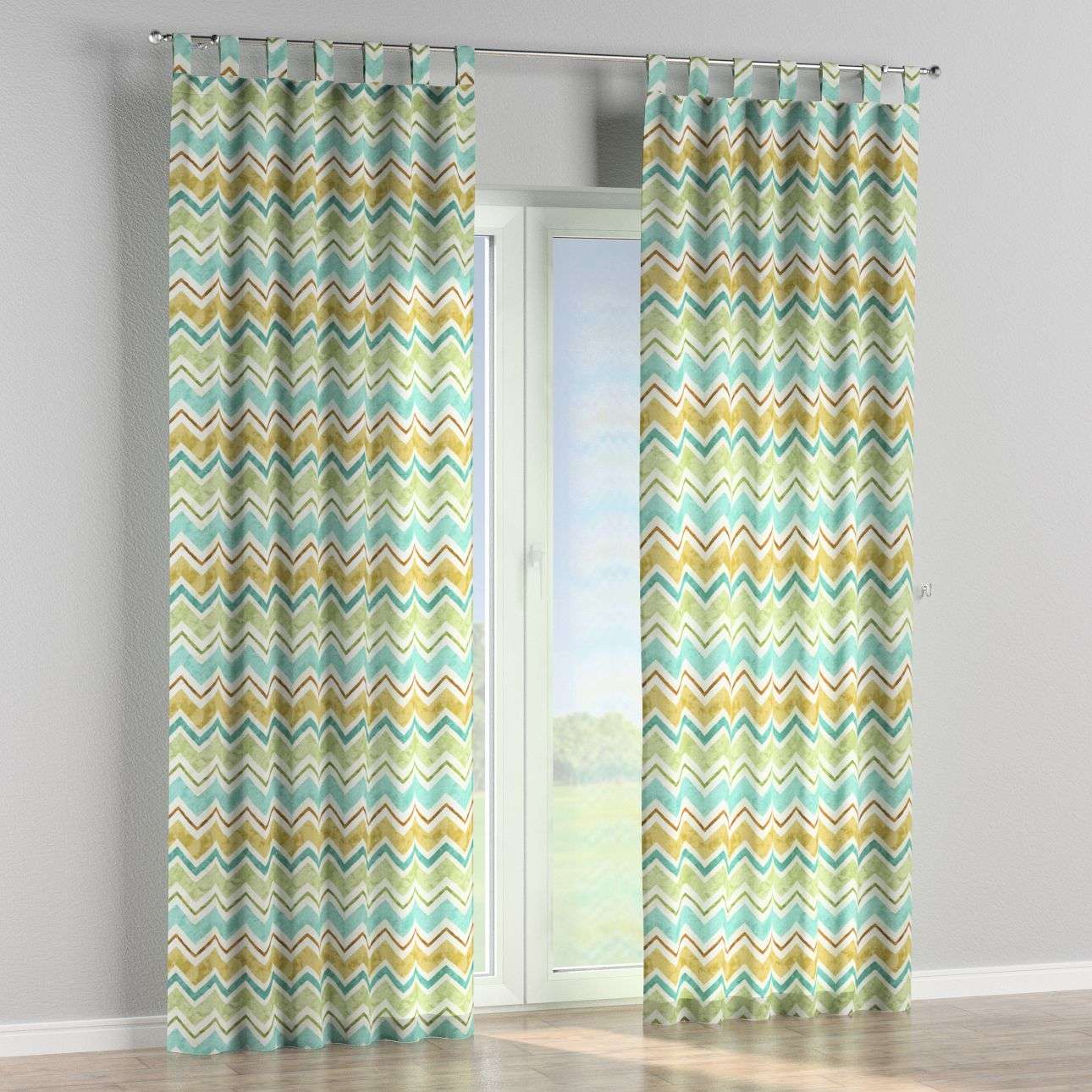 Tab top curtains 130 x 260 cm (51 x 102 inch) in collection Acapulco, fabric: 141-41