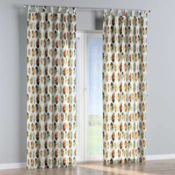Tab top curtains 130 x 260 cm (51 x 102 inch) in collection Urban Jungle, fabric: 141-43