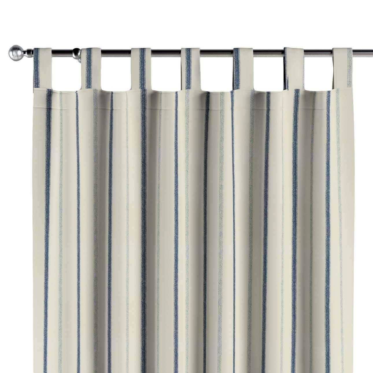 Gardin med hällor 1 längd 130 x 260 cm i kollektionen Avinon, Tyg: 129-66