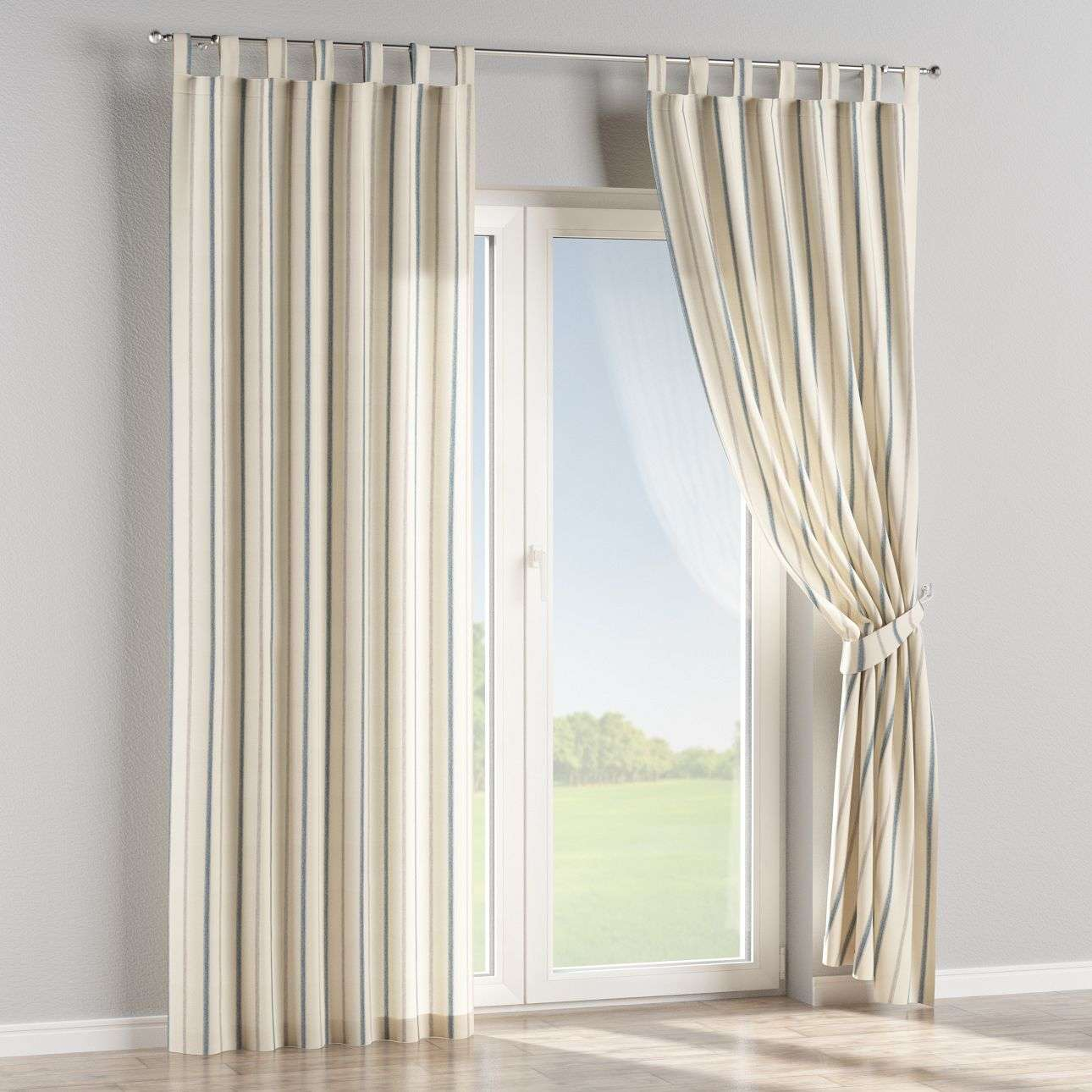 Tab top curtains in collection Avinon, fabric: 129-66