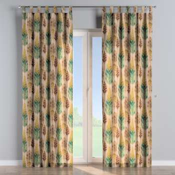 Tab top curtains 130 x 260 cm (51 x 102 inch) in collection Urban Jungle, fabric: 141-60