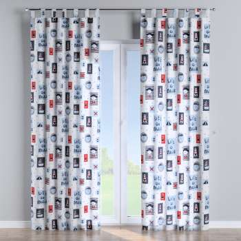 Tab top curtains 130 x 260 cm (51 x 102 inch) in collection Little World, fabric: 141-29