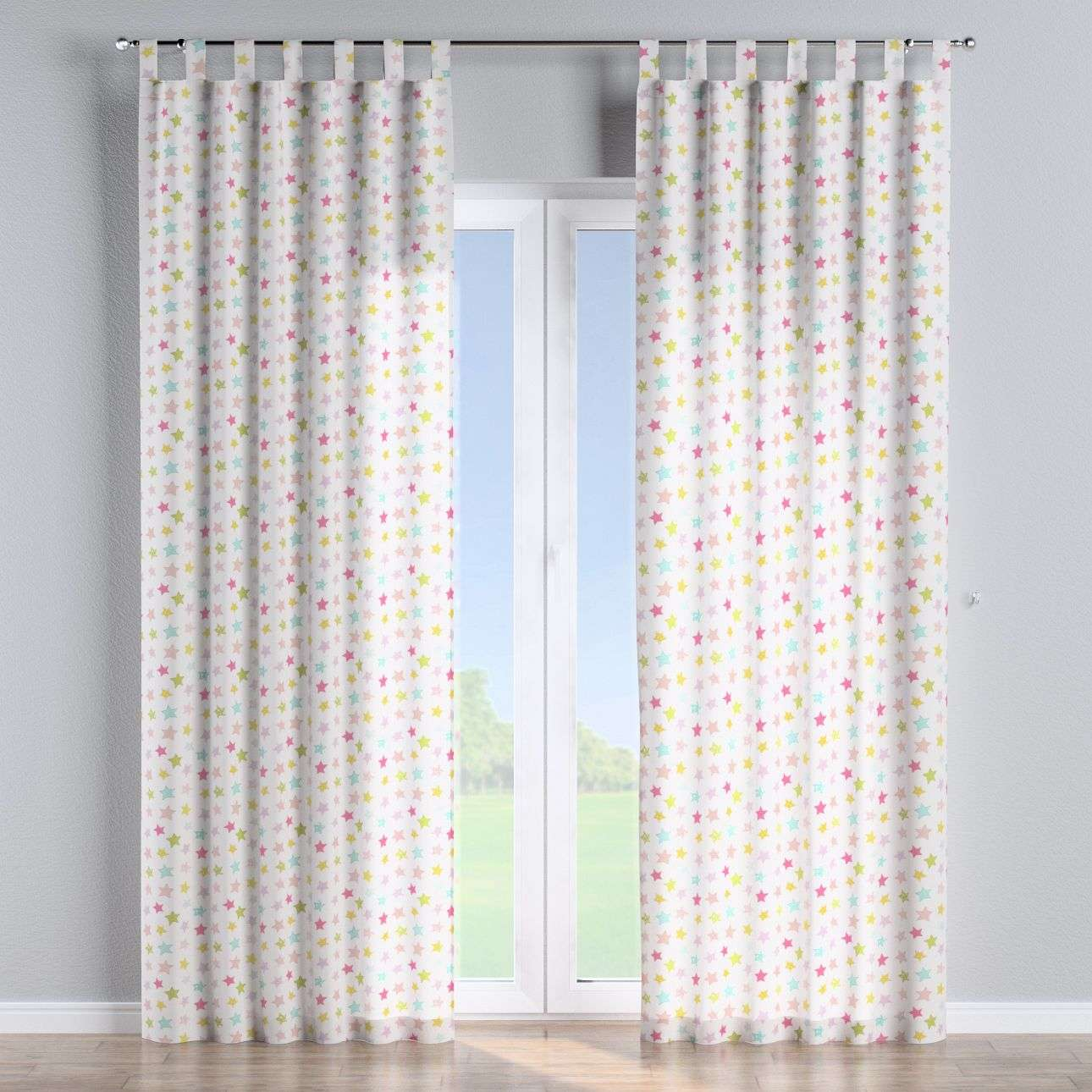 Tab top curtains 130 x 260 cm (51 x 102 inch) in collection Little World, fabric: 141-52