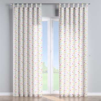 Tab top curtains in collection Little World, fabric: 141-52