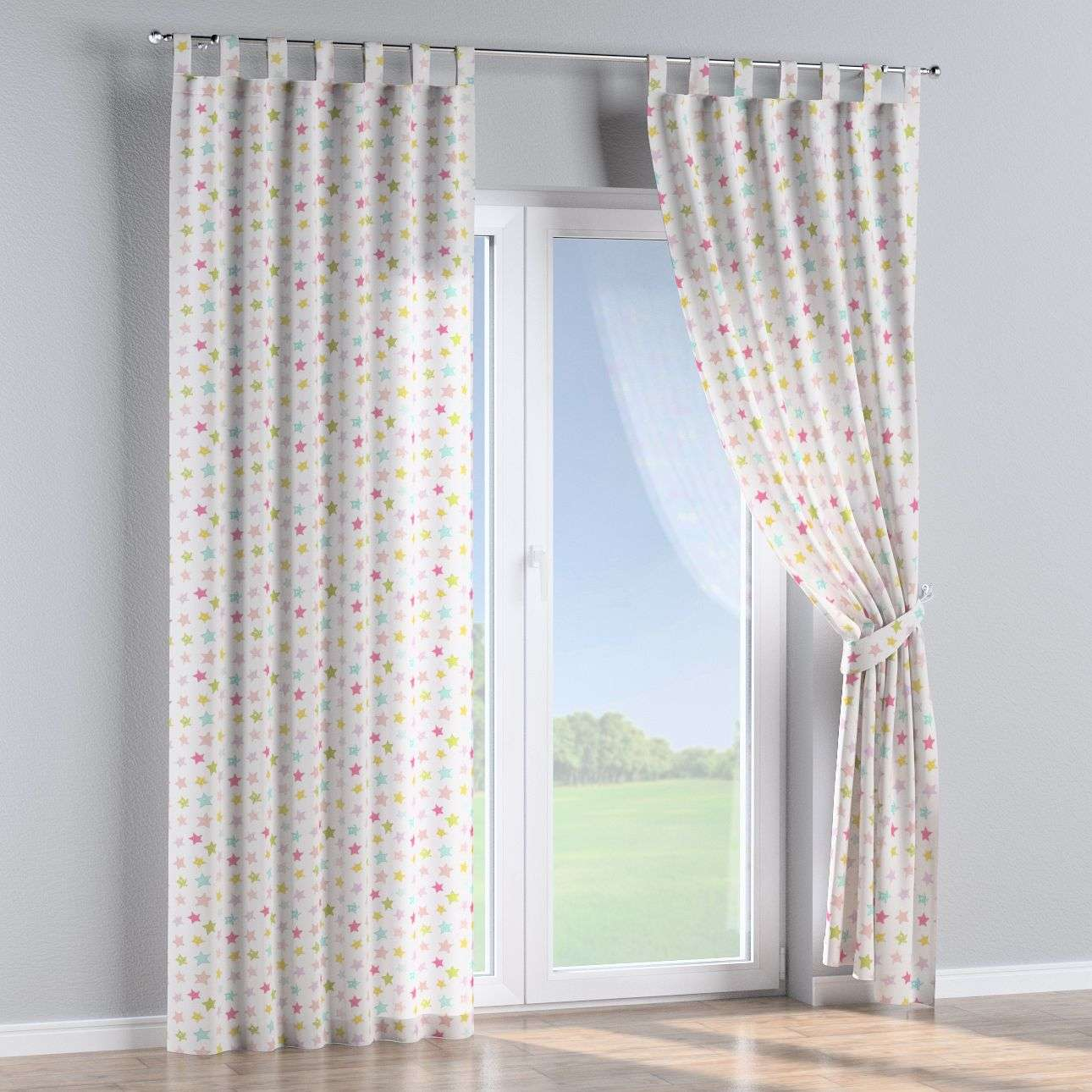 Tab top curtains 130 × 260 cm (51 × 102 inch) in collection Little World, fabric: 141-52