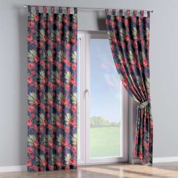 Tab top curtains in collection New Art, fabric: 141-57