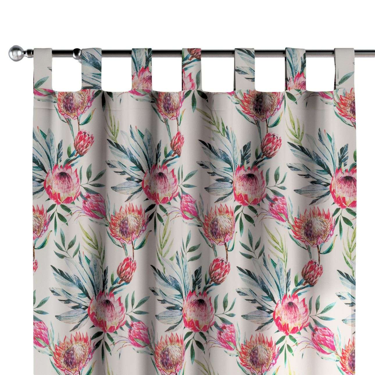 Tab top curtains 130 x 260 cm (51 x 102 inch) in collection New Art, fabric: 141-59
