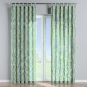 Tab top curtains 130 × 260 cm (51 × 102 inch) in collection Comics/Geometrical, fabric: 141-20