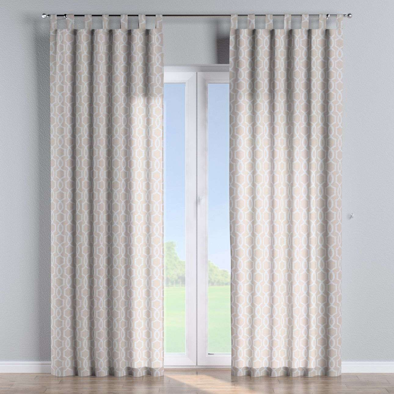 Tab top curtains in collection Comics/Geometrical, fabric: 141-26