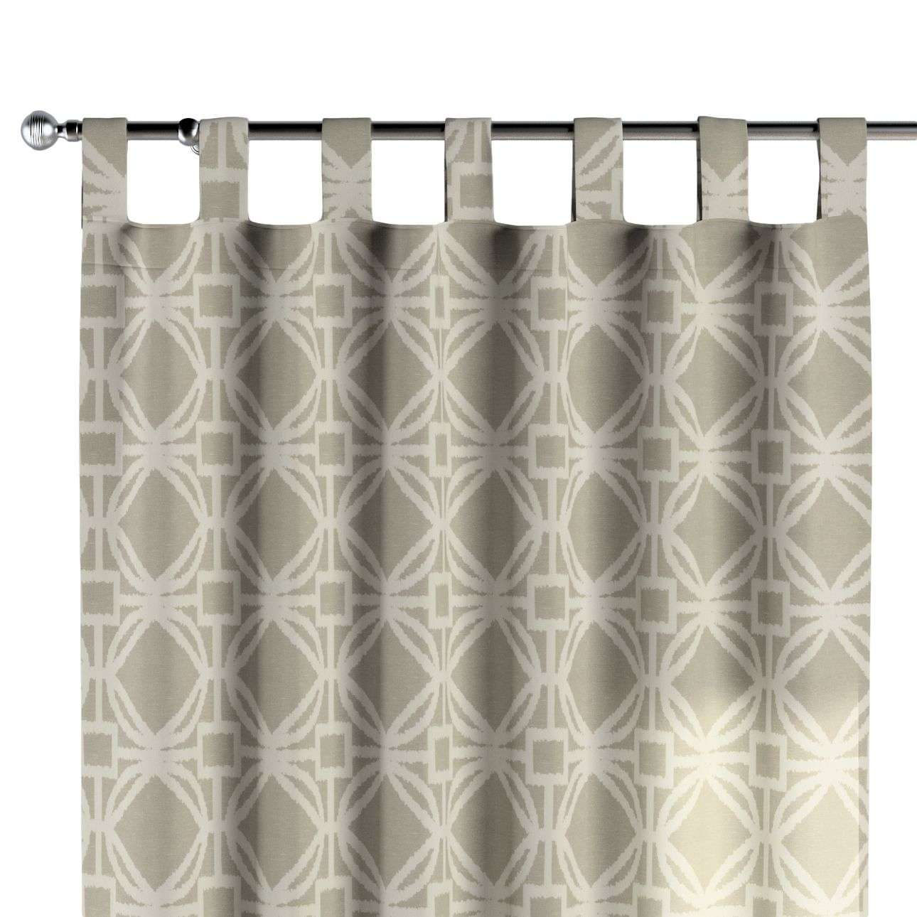 Tab top curtains 130 × 260 cm (51 × 102 inch) in collection Comics/Geometrical, fabric: 141-56