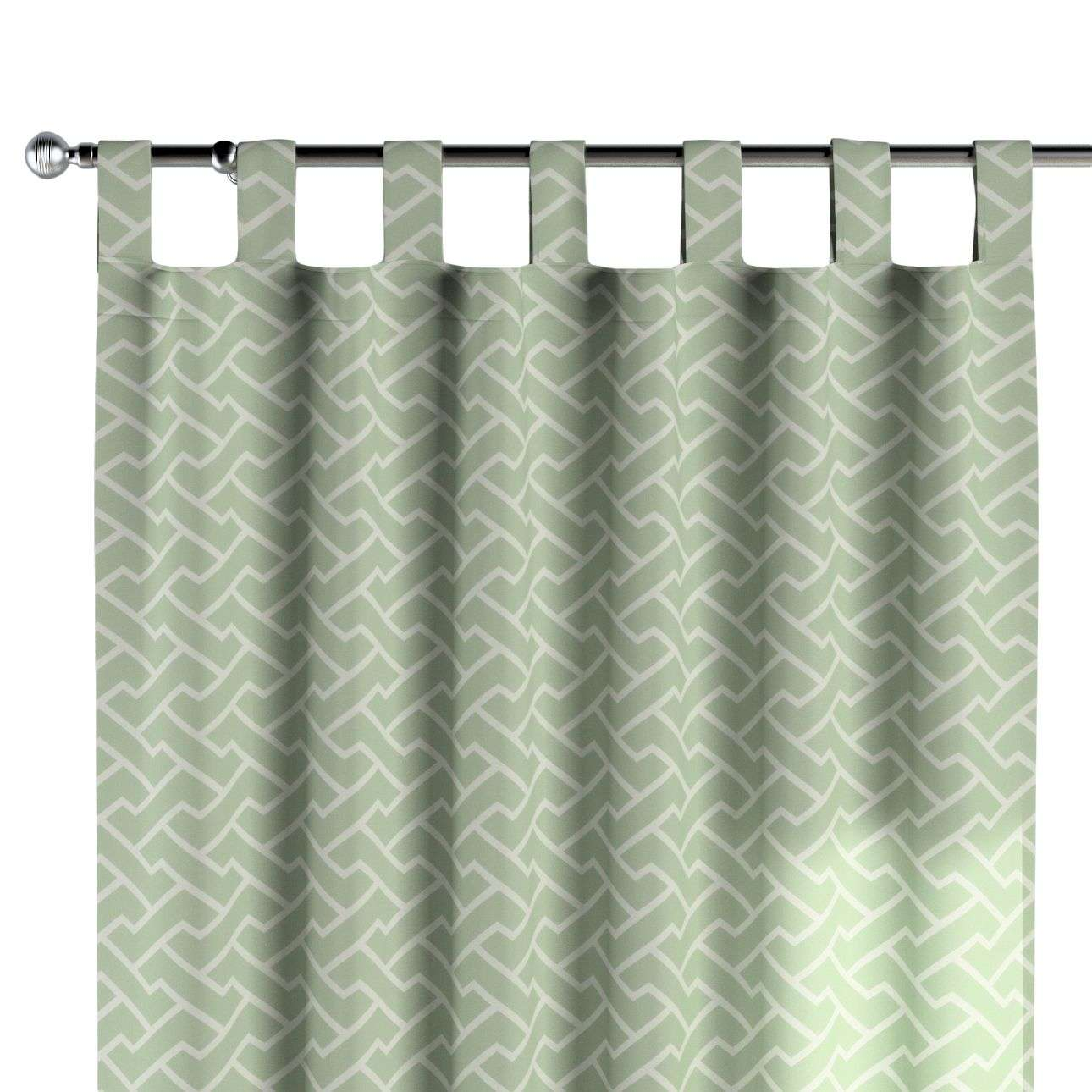 Tab top curtains 130 x 260 cm (51 x 102 inch) in collection Comics/Geometrical, fabric: 141-63