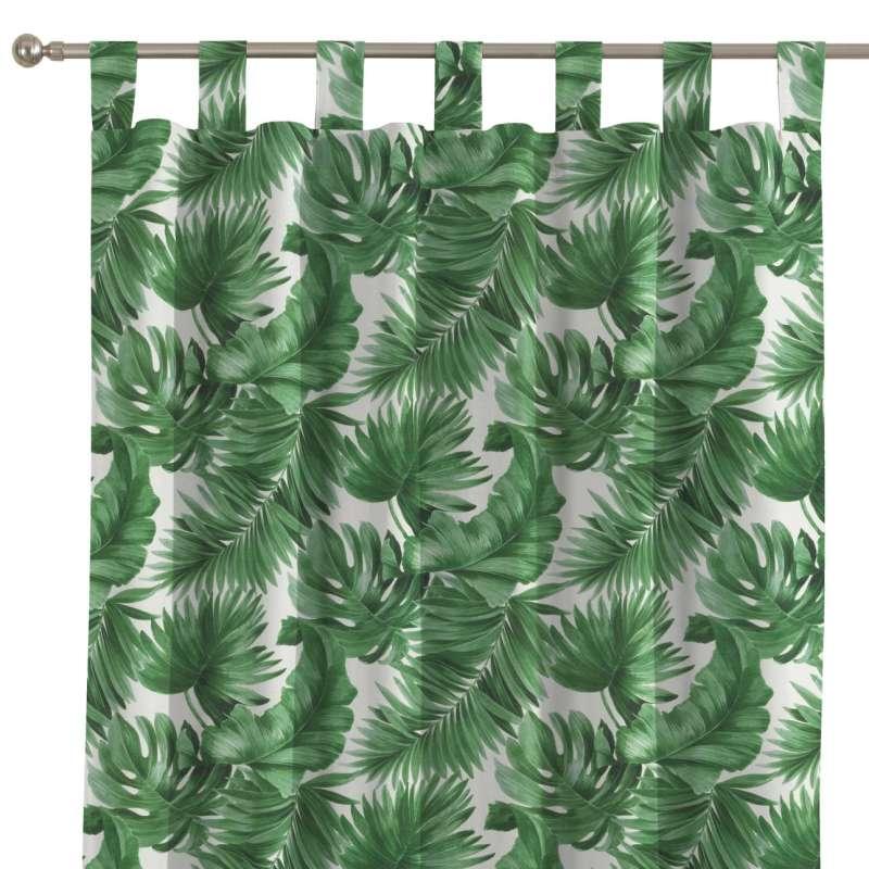 Zasłona na szelkach 1 szt. w kolekcji Tropical Island, tkanina: 141-71