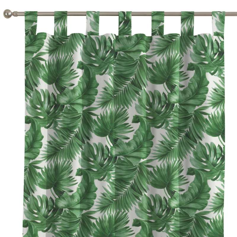 Záves na pútkach V kolekcii Tropical Island, tkanina: 141-71