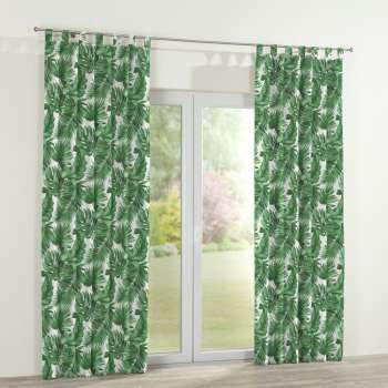 Tab top curtains in collection Urban Jungle, fabric: 141-71