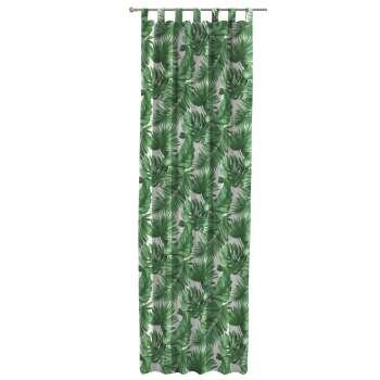 Gardin med hällor 1 längd i kollektionen Urban Jungle, Tyg: 141-71