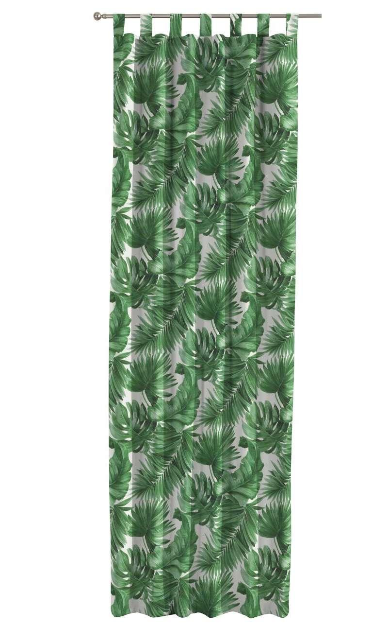 Gardin med stropper 1 stk. fra kollektionen Tropical Island, Stof: 141-71