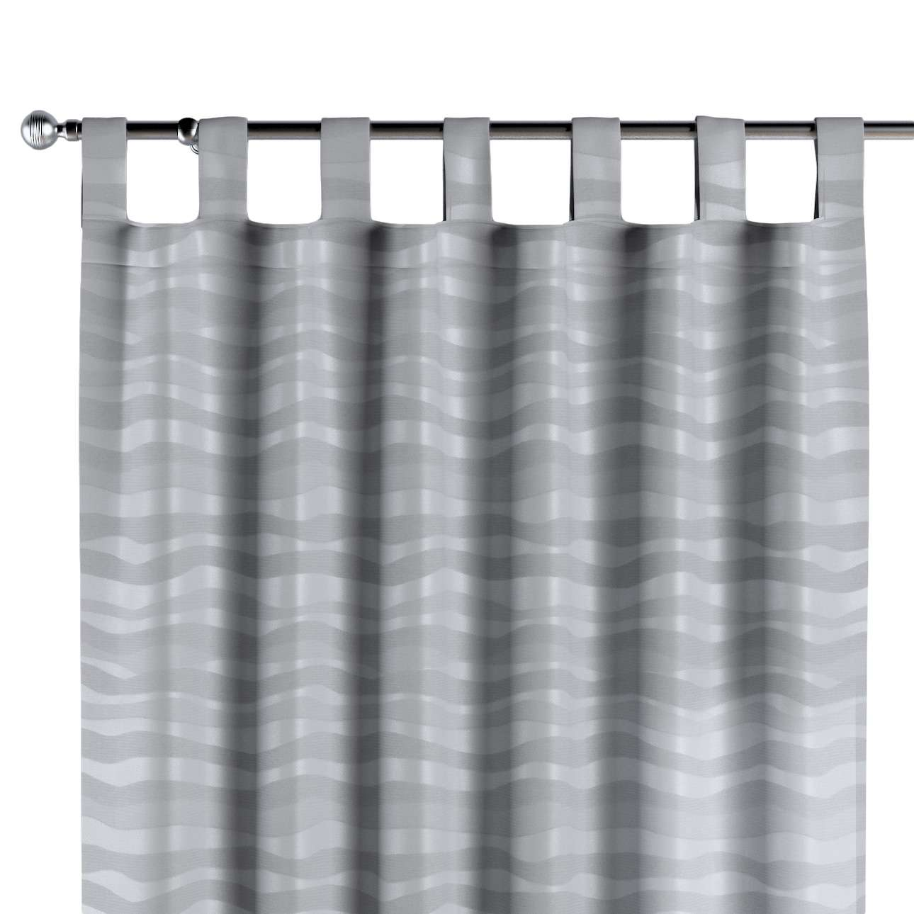 Tab top curtains in collection Damasco, fabric: 141-72